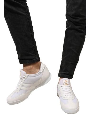 Derigo Buz Mavi Erkek Spor Ayakkabı 703036 Beyaz